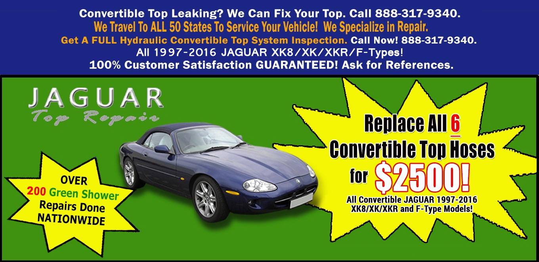 Jaguar Top Repair - Customer Reviews | Talk To A REAL Customer About